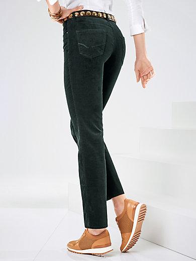 Le pantalon en velours milleraie Feminine Fit Peter Hahn sélection automnale Zenitude Profonde le mag
