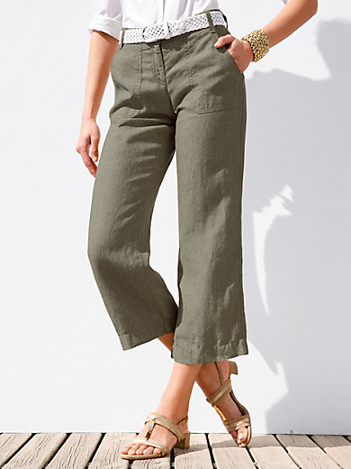 Brax Feel Good - Linen trousers - design MAINE SPORT