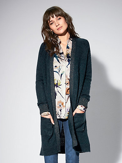Brax Feel Good - Long knitted cardigan
