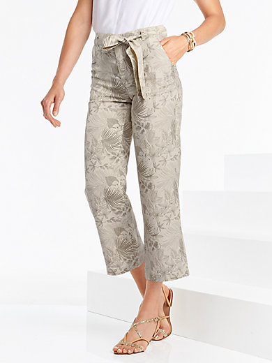Brax Feel Good - Modern Fit 7/8-length trousers design Maine S