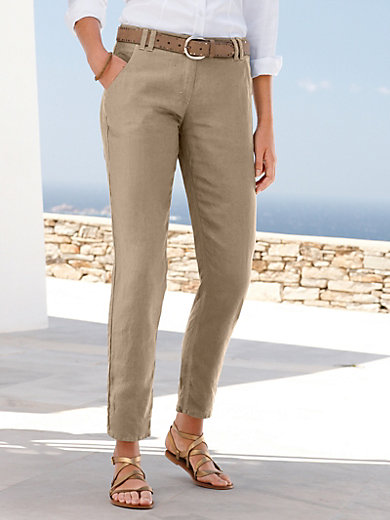 Modern Fit trousers - design MELO Brax Feel Good white Brax trDMj