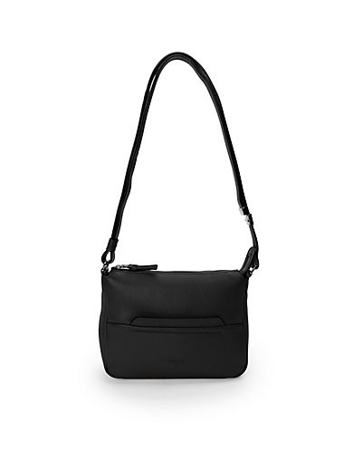"""Bree - """"Faro 1"""" bag in suede with nappa leather details"""