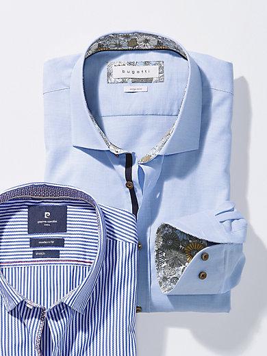 Bugatti - Hemd mit Haifisch-Kragen