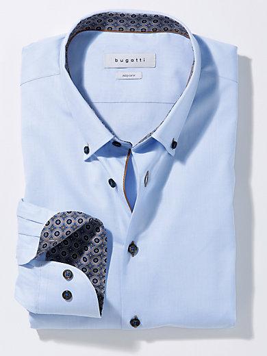 Bugatti - Hemd mit schmalem Button-down-Kragen