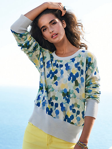 Cashmere Victim - Round neck jumper in 100% cashmere