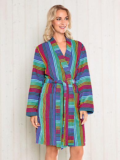 Cawö - Bademantel in Kimono-Form