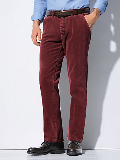 Fine corduroy trousers CLUB OF COMFORT red Club Of Comfort QAxMRGmVm