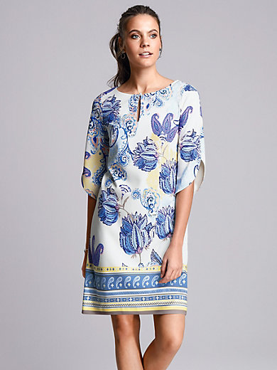 comma, - Dress with 3/4-length sleeves