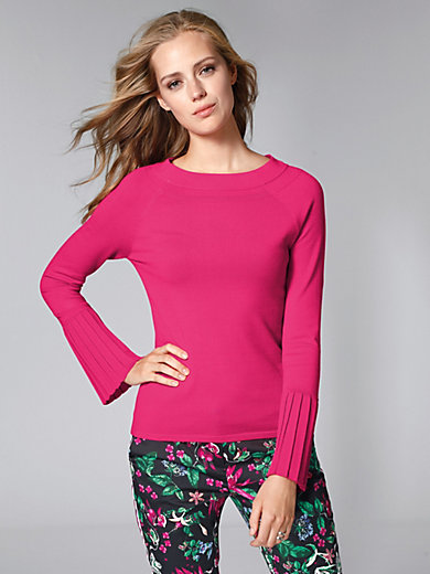 comma, - Jumper with statement sleeves
