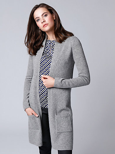 comma, - Knitted coat in wool and cashmere