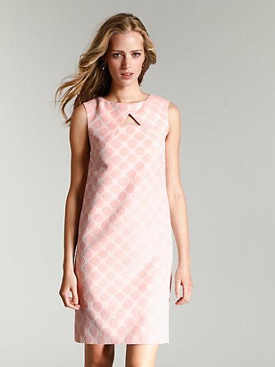 comma, - La robe sans manches, ligne droite, imprimé pois