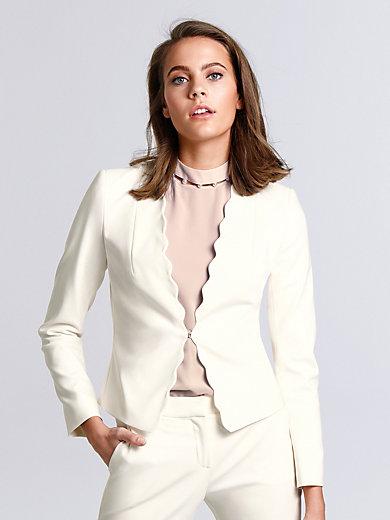 comma, - Le blazer, ligne ajustée, finitions écailles