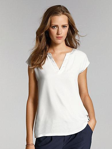 comma, - Mouwloos blouseshirt
