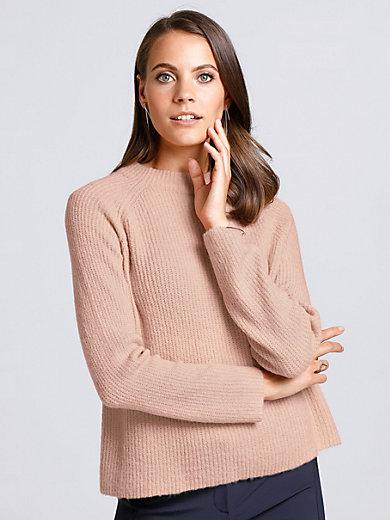 comma, - Pullover mit Stehkragen