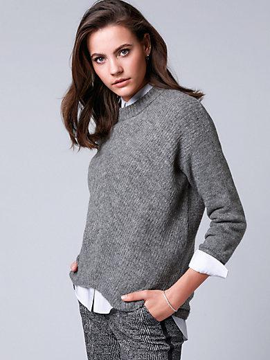 comma, - Pullover mit überschnittener Schulter