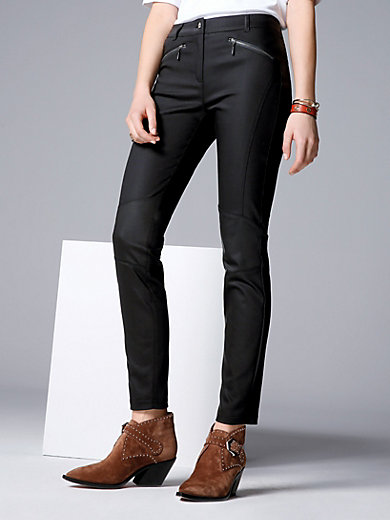 comma, - Skinny-Hose mit coolem Knieeinsatz