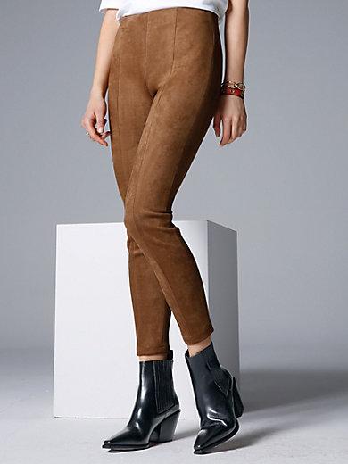comma, - Vetoketjuttomat housut mokkanahkajäljitelmää