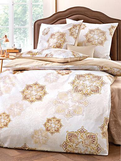 curt bauer bettw sche garnitur aus satin ca 135x200cm karamell. Black Bedroom Furniture Sets. Home Design Ideas