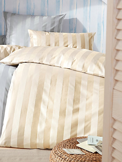 curt bauer taie d 39 oreiller 80x80 housse de couette 135x200 naturel. Black Bedroom Furniture Sets. Home Design Ideas