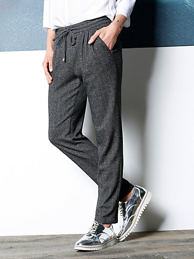 DAY.LIKE - Ankle-length flannel trousers