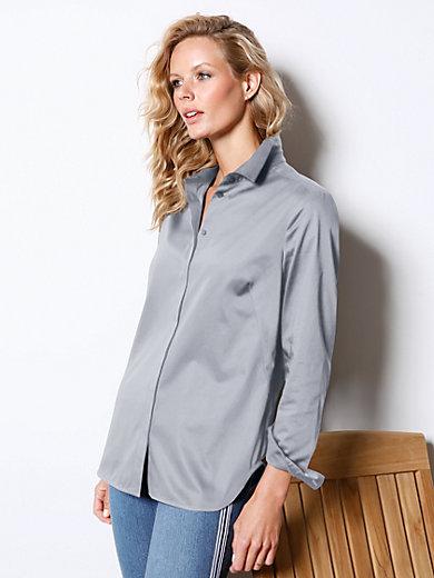 DAY.LIKE - Bluse mit kleinem Hemdkragen