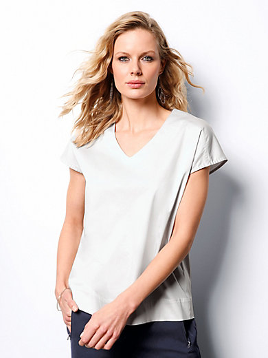 DAY.LIKE - Bluse mit V-Ausschnitt