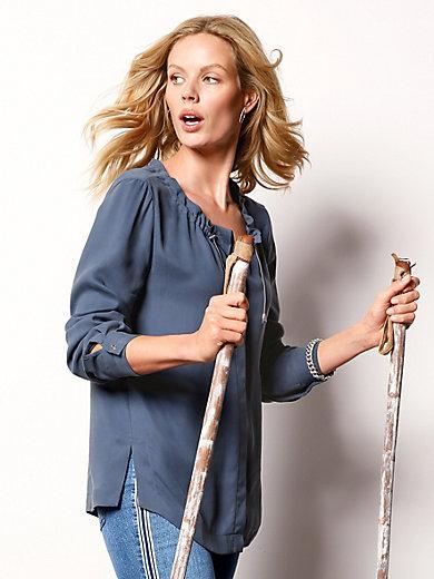 DAY.LIKE - Bluse mit weitem Rundhals-Ausschnitt