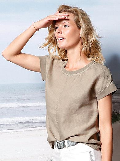 DAY.LIKE - Blusen-Shirt aus 100%Leinen