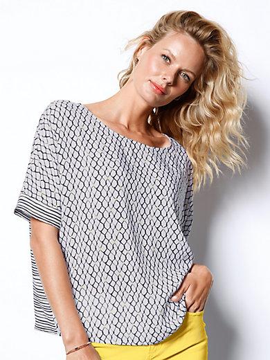 DAY.LIKE - Blusen-Shirt mit Rundhals-Ausschnitt