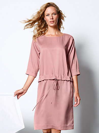DAY.LIKE - Dress with round neckline and 3/4-length sleeves