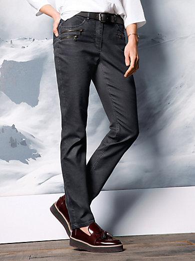 DAY.LIKE - Jeans mit Beschichtung