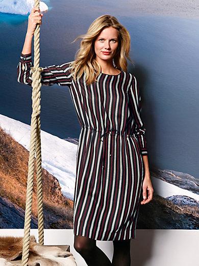 DAY.LIKE - Kleid mit streckenden Längsstreifen