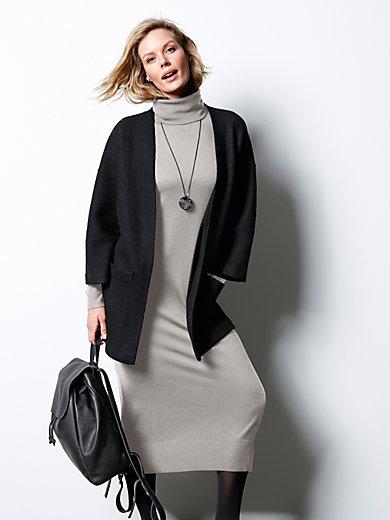 DAY.LIKE - La robe en pure laine Mérinos, col roulé