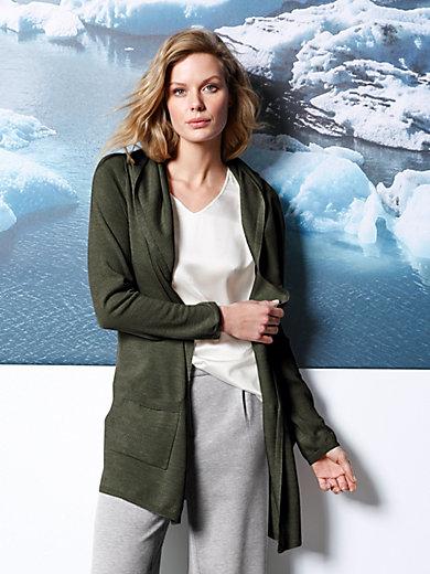 DAY.LIKE - La veste longue en pure laine Mérinos