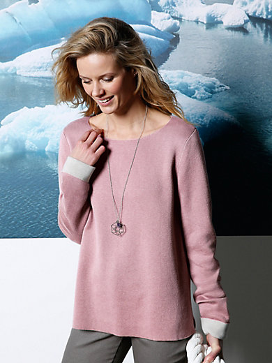 DAY.LIKE - Le pull en maille double face, encolure bateau