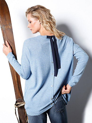 DAY.LIKE - Le pull en pure laine vierge, épaules tombantes