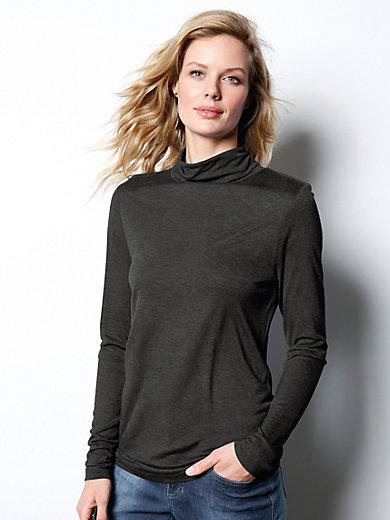 DAY.LIKE - Le T-shirt en jersey, manches longues et col roulé