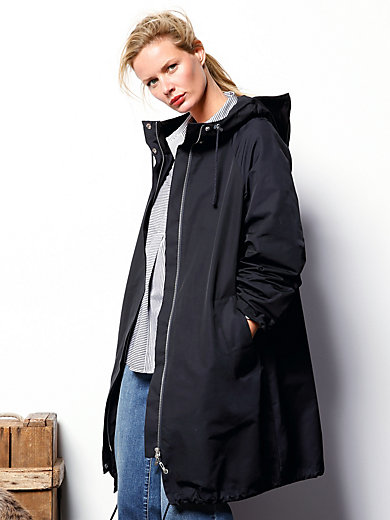 DAY.LIKE - Long hooded jacket