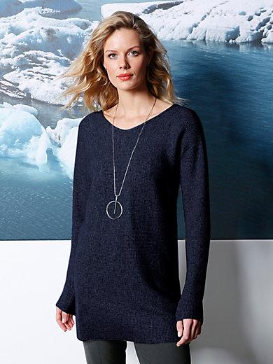 DAY.LIKE - Pullover aus 100% Schurwolle von BIELLA YARN