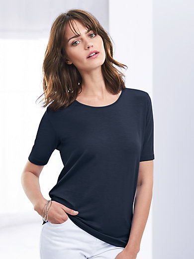 DAY.LIKE - Round neck top with short sleeves