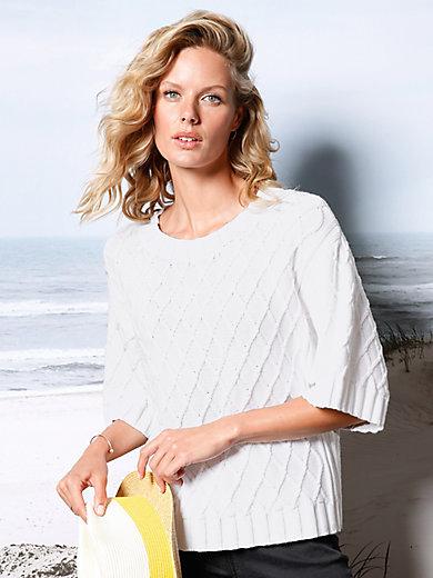 DAY.LIKE - Rundhals-Pullover 100% SUPIMA®-Baumwolle