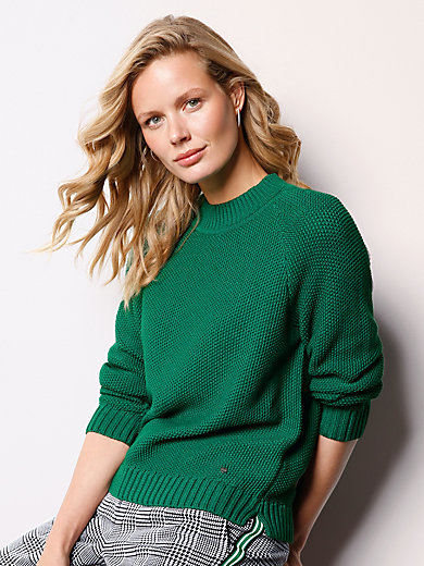 DAY.LIKE - Rundhals-Pullover aus 100% SUPIMA®-Baumwolle
