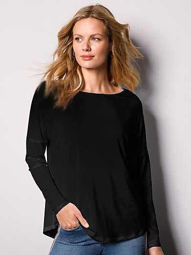 DAY.LIKE - Rundhals-Shirt mit überschnittener Schulter