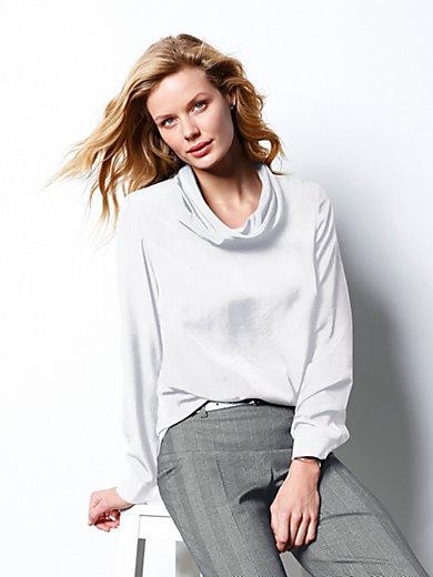 DAY.LIKE - Schlupf-Bluse mit Rollkragen