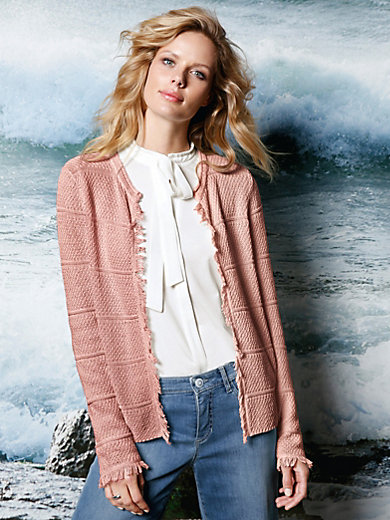 DAY.LIKE - Strickjacke aus 100% Baumwolle