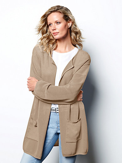 DAY.LIKE - Strickjacke aus 100% SUPIMA®-Baumwolle