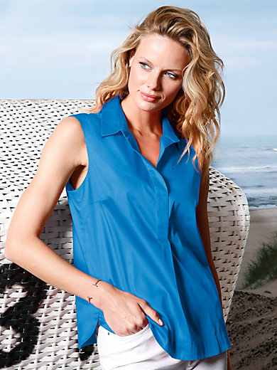 DAY.LIKE - Tunic top with small shirt collar
