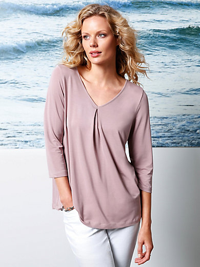 DAY.LIKE - V-neck top with 3/4-length sleeves