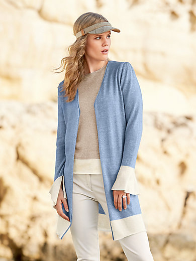 Delicatelove - Long knitted cardigan