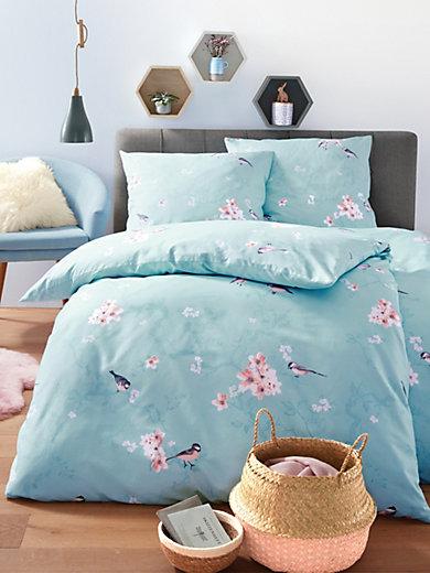 Dormisette - 2-teilige Bettwäsche-Garnitur aus Mako-Satin